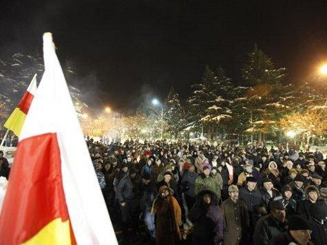 К такому соглашению пришли президент Южной Осетии и оппозиция