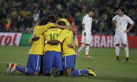 Бразильцы покуражились над чилийцами
