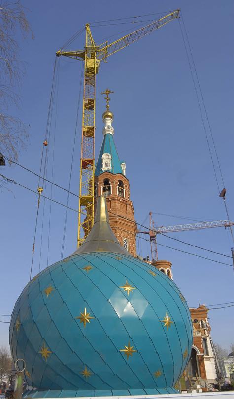 Москвичи взбунтовались против строительства храма во дворе