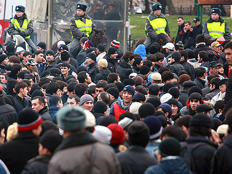 Ураза-байрам на два дня ограничит движение в Москве