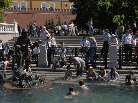 Москву ожидают 30-градусные выходные