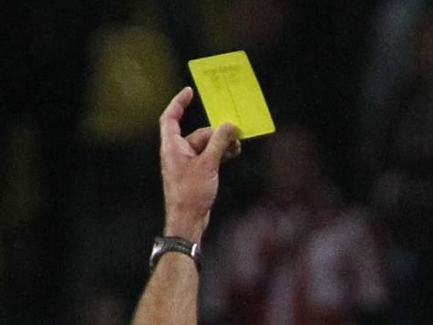 Футбольный арбитр Безбородов обвинен в помощи
