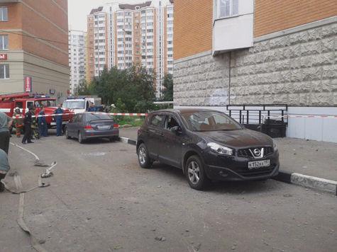 На Хорошёвском шоссе взорвался снаряд времен ВОВ