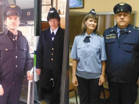 Для подмосковных водителей выберут один из трех вариантов форменной одежды