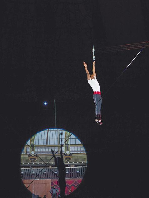 В цирке на Вернадского пройдут испытания русской сетки