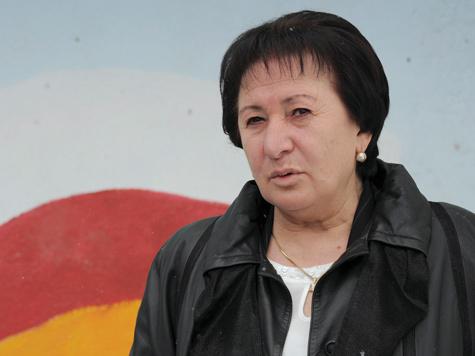 Политическая дама в Южной Осетии