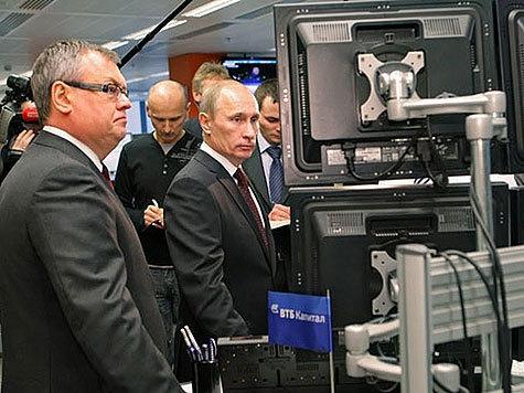 Путин пощупал финансовое сердце