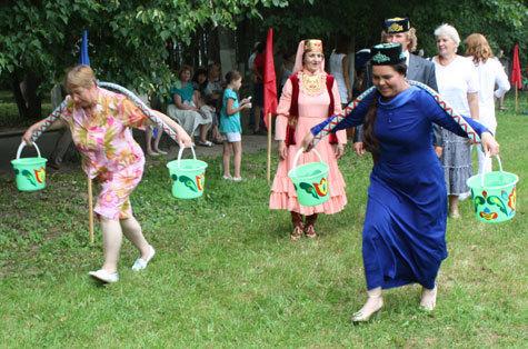 Юбилейный Сабантуй отпраздновали в Наро-Фоминске