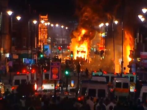 Лондон восстал против полиции