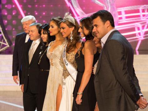 Первые участницы конкурса «Мисс Вселенная 2013» прилетели в Москву