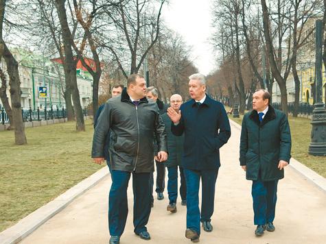Центр Москвы останется в истории