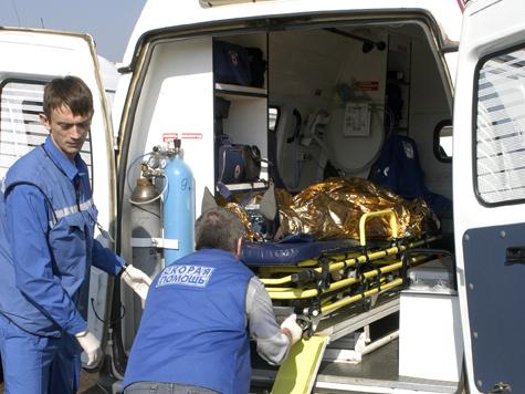 В ДТП со «скорой» не пострадала только пациентка