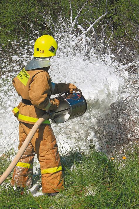 Пожарные живут по заветам Аристотеля