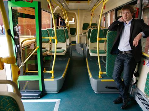 В московских автобусах все-таки будет прохладно