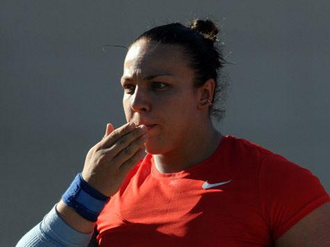 Толкательницу ядра Авдееву дисквалифицировали на два года за допинг