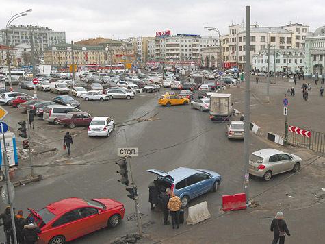 Строительство развязки у Белорусского вокзала никак не сдвинется с мертвой точки