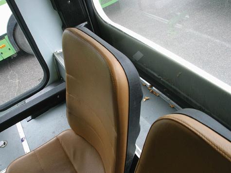 Сиденье автобуса стало для пассажира пороховой бочкой