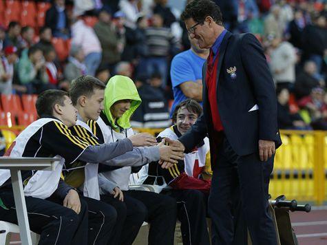 Бывший игрок сборной Англии считает, что Капелло ведет россиян к поражению