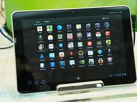 Показаны планшеты Acer Iconia Tab A210/211 и A110