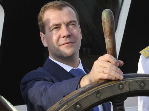 Да здравствует Дмитрий Медведев!