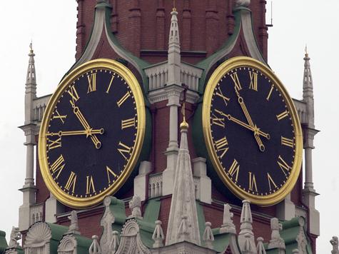 В Кремле обновят время