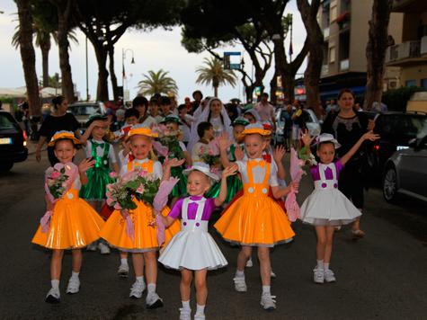 Участники детских коллективов со всех регионов России побывали с гастролями в Италии
