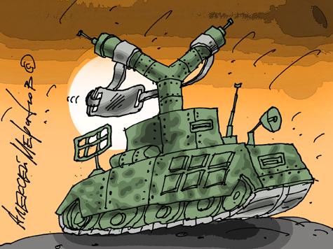 Нового танка три года ждут