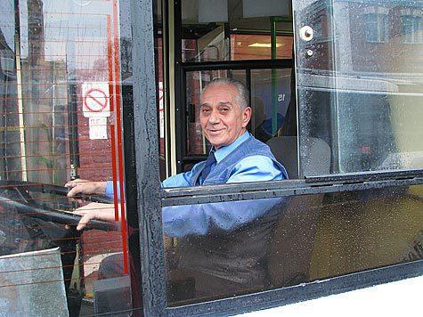 Троллейбусы в центре Москвы не ждут кольца
