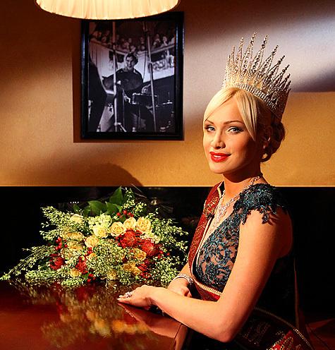 Самая красивая мама страны, 28-летняя москвичка Алиса Крылова, готовится к международным испытаниям