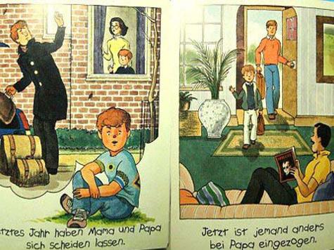 Немецким детям о гомосексуализме рассказывают в комиксах