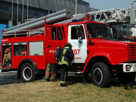 На пожаре пострадали  и патрульный, и постовой