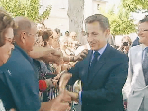 Саркози устоял передхулиганом