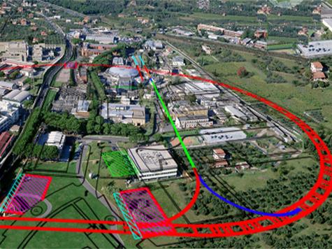 Италия приступила к строительству нового коллайдера