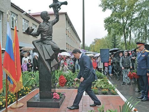 В Ногинском районе увековечили память Жени Табакова