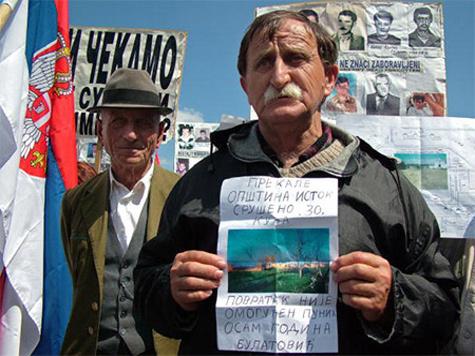 Косовские сербы хотят получить гражданство России