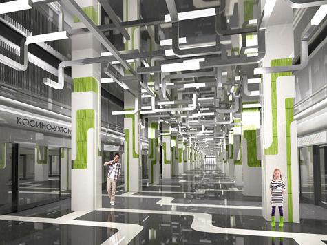 Новую линию метро украсят трубами