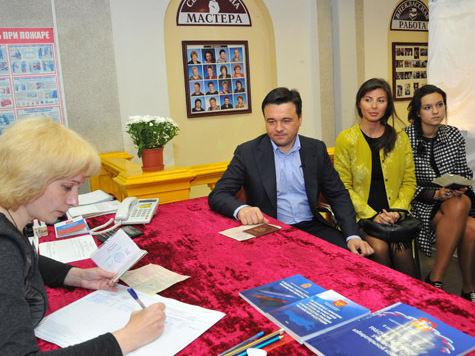 На избирательный участок Андрей Воробьев приехал с семьей, а Сергей Шойгу – за рулем собственного автомобиля