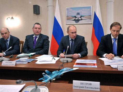 Путин отдал авиации четверть Гособоронзаказа