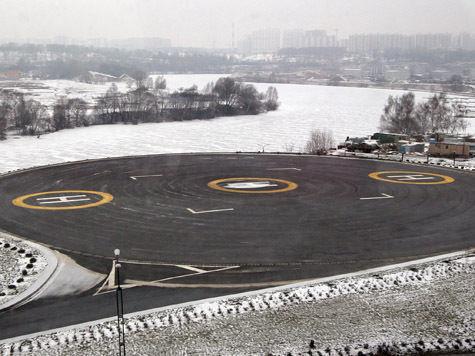 В Подмосковье определились с размещением вертолетных площадок