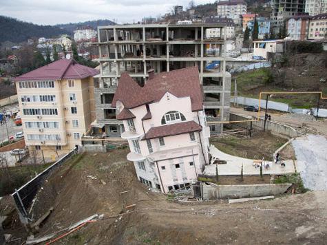 Тоннель, который строят к Олимпиаде в Сочи, обвалился из-за жадности