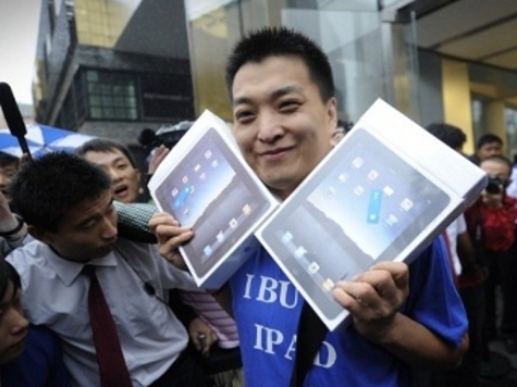 Китайцы намерены заполучить права на марку iPad во всем мире