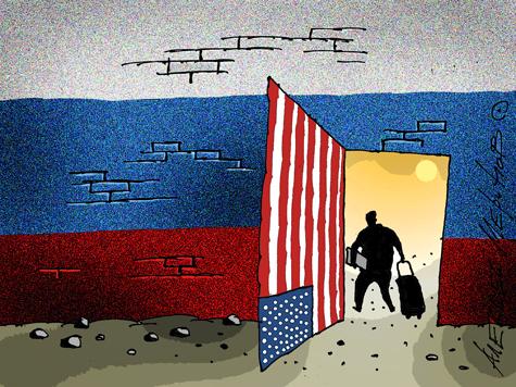 Главный борец с «иностранными агентами» отдыхает в логове зла