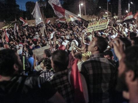 В Египте разогнали палаточный лагерь: стороны не могут согласовать число погибших