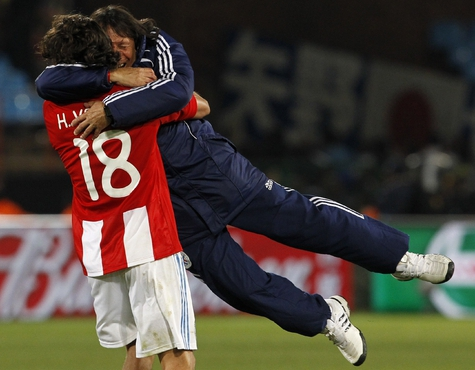Парагвайцы впервые в четвертьфинале ЧМ