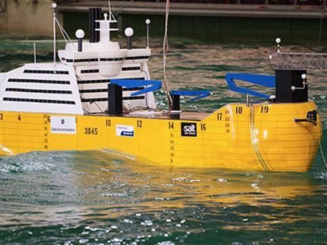 Норвежцы изобрели судно, которое генерирует волны, нейтрализующие любой шторм
