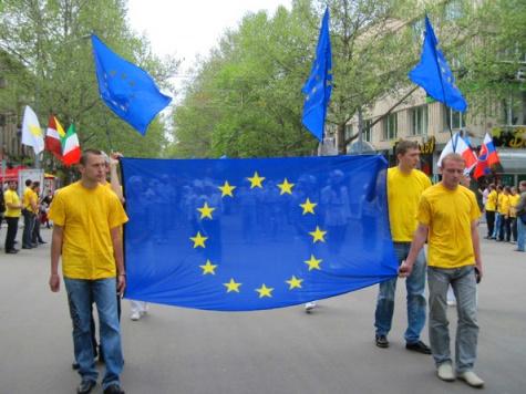 Современная европейская молодежь живет в совершенно ином пространстве