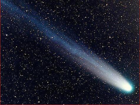 Открыта первая российская комета