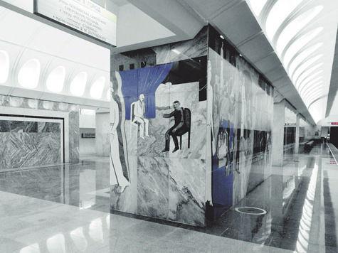 Станция метро «Достоевская» признана литературной