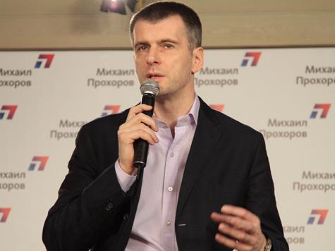 Прохоров похоронил уличные протесты