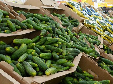Цены на свежие овощи в столичных магазинах растут словно на дрожжах
